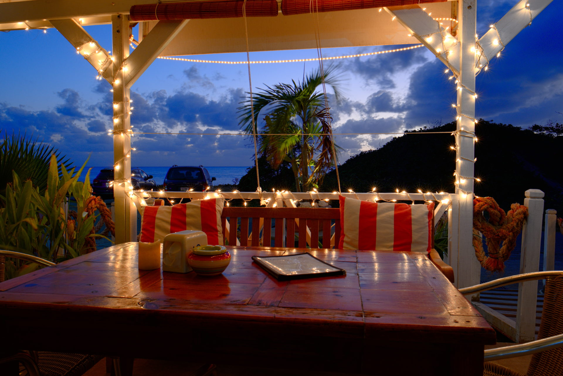 Restaurant Harbourclub Statia Is Located Right Next Door To The Orange Bay Hotel It Serves Also As Front Desk Of